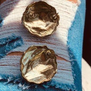 Jewelry - Gold Lion Earrings